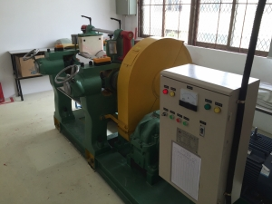 Silicon rubber mixing machine
